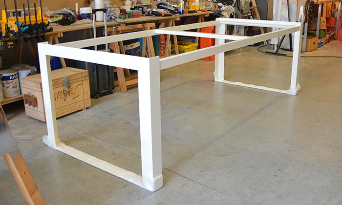 Tafel Onderstel Maken : Aluminiumtafelframe aluminium tafelframes op maat